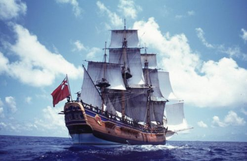Найден корабль Джеймса Кука