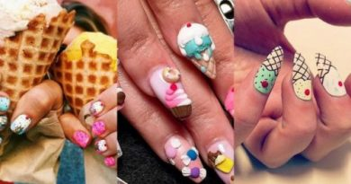 Десертный маникюр: сеть охватила мода на ногти в виде мороженого