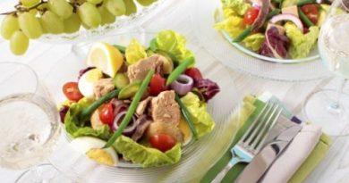 Салат Нисуаз: классический рецепт