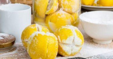Ферментированные лимоны с солью - эффективное антибактериальное, антисептическое средство