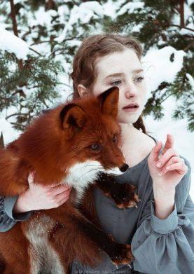 1 Лесная фотосессия: Рыжеволосые красавицы