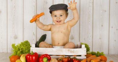 овощи и фрукты дети