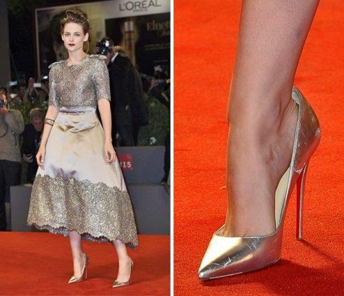 Почему знаменитости носят обувь на размер больше