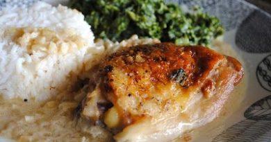 Куриные бедрышки в горчично-сливочном соусе