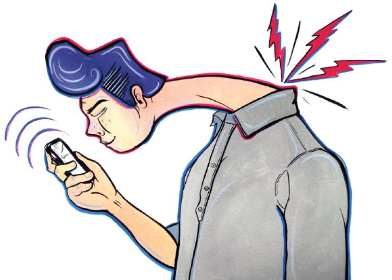 «Текстовая шея» — новая серьезная болезнь любителей телефонов
