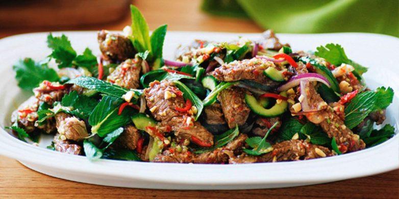 7 салатов с мясом на любой вкус