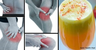 Вот средство от боли в коленях, костях и суставах.