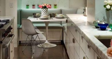 Кухонный уголок для маленькой кухни — подборка симпатичных идей