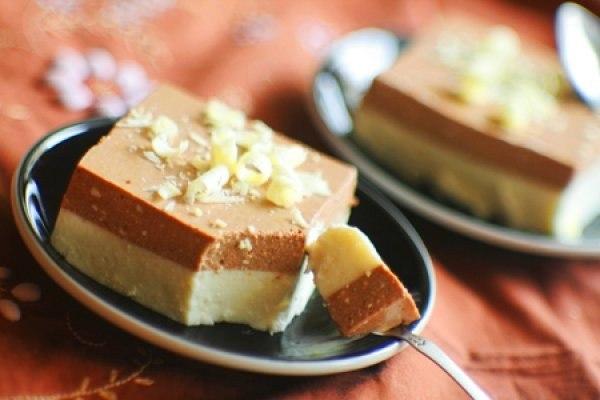 Ванильно-шоколадный десерт