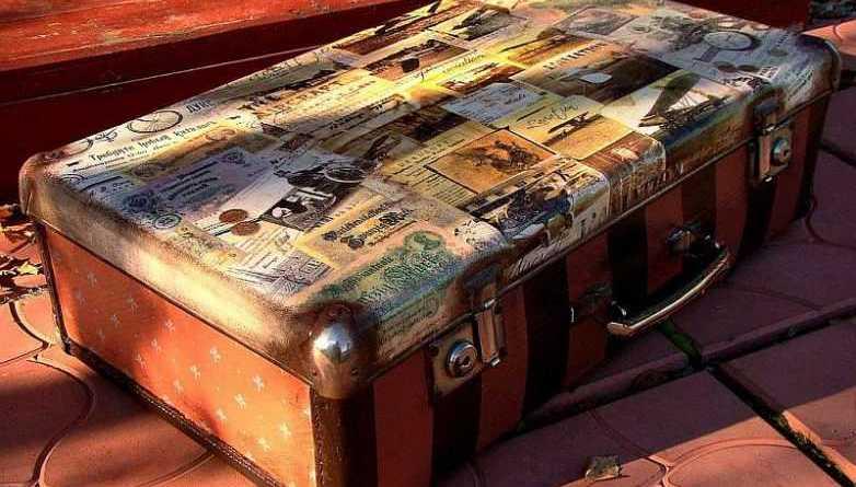 28 практичных идей переделок старых чемоданов на новой лад!