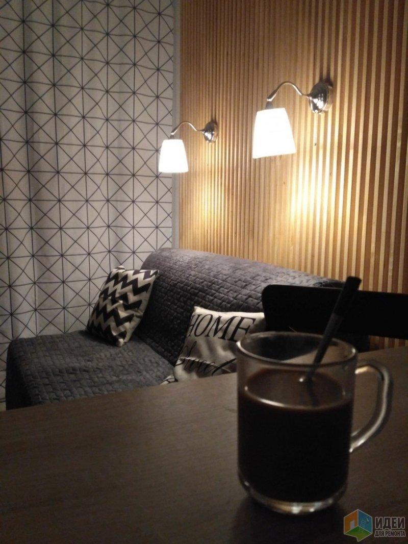 кофейный перерыв еще во время доделок