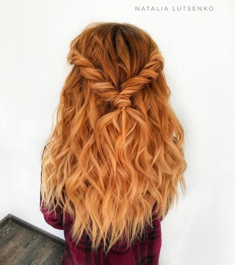 прически для длинных волос фото 19