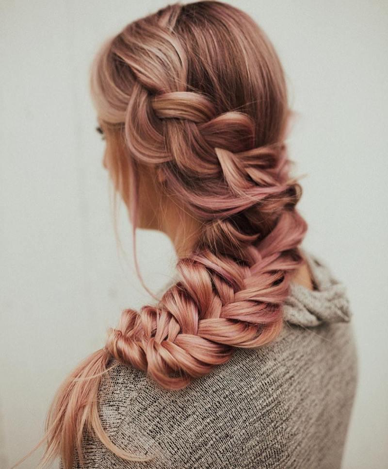 прически для длинных волос фото 23