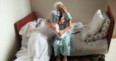 Невероятно реалистичных бабушек и дедушек, при взгляде на которых сжимается сердце