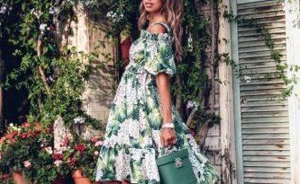 Элегантные повседневные платья на сезон весна-лето