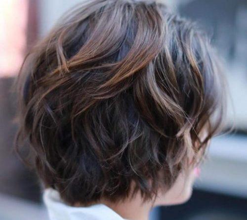 Окрашивания волос в технике шоколадного балаяжа