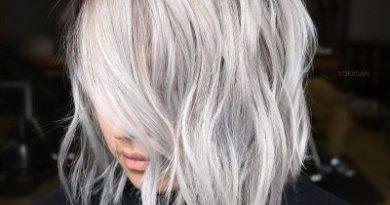 15 эффектных коротких стрижек для пепельных волос