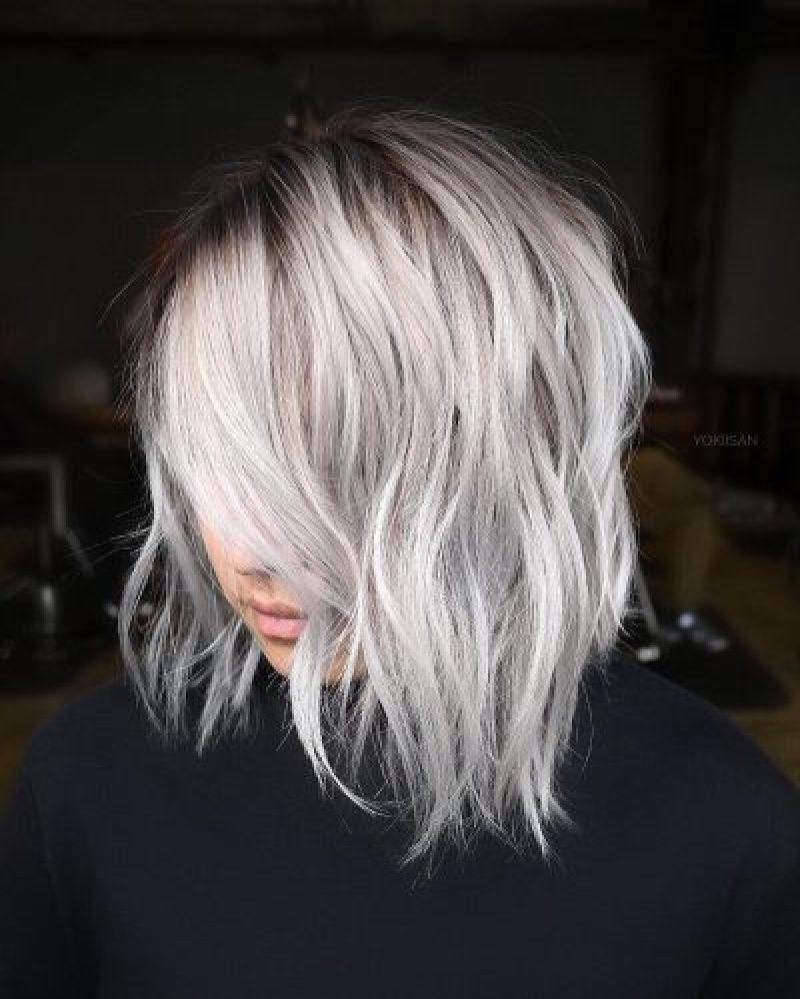 короткие стрижки для пепельных волос фото 5