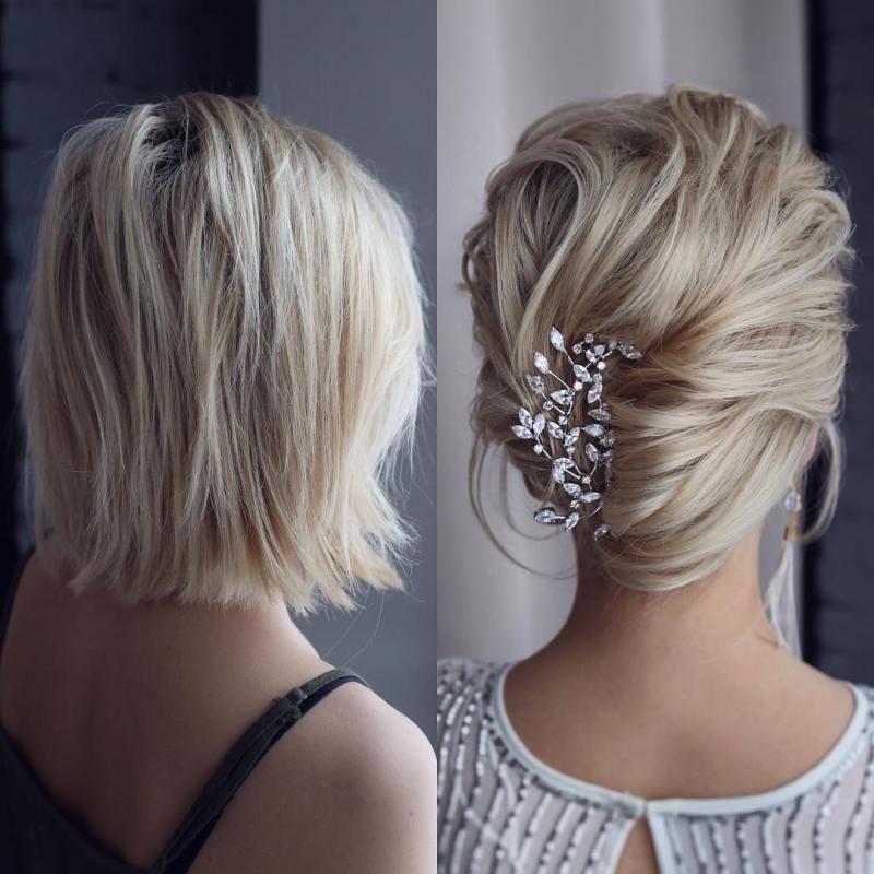 прически для коротких волос фото 1