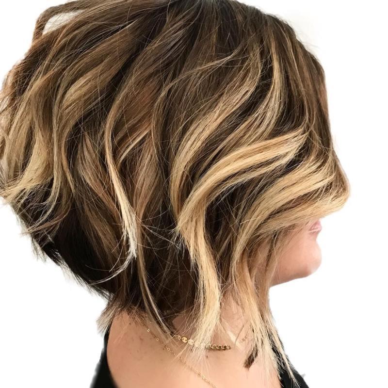 Мелирование на короткие волосы фото 3