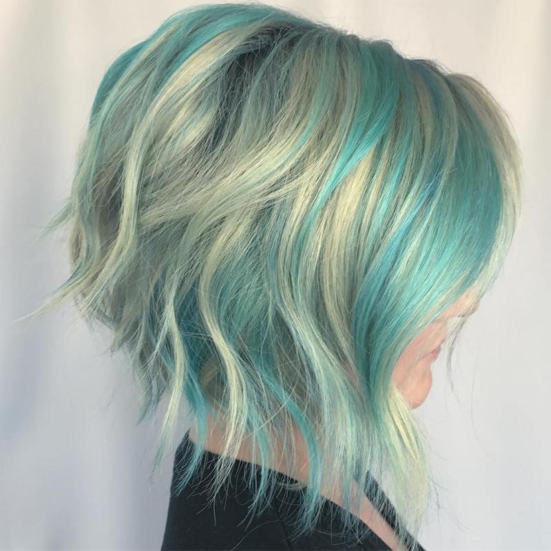 Мелирование на короткие волосы фото 14