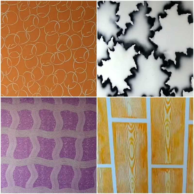 креативный подход к покраске стен