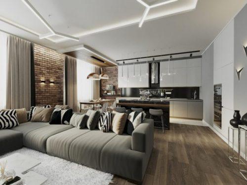 Дизайн проект квартиры. Ждем критику)) — Дом. Ремонт. Дизайн