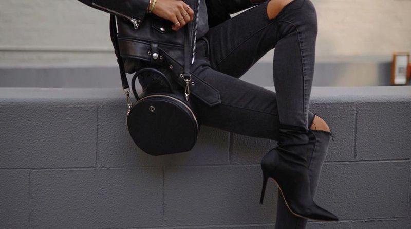 Кожаная куртка и джинсы: 17 стильных образов