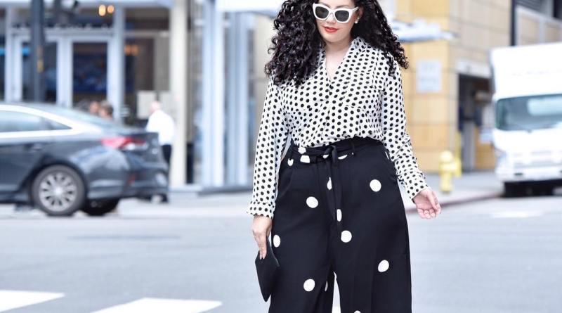 Модные тенденции 2019 года для полных женщин: 14 милых образов