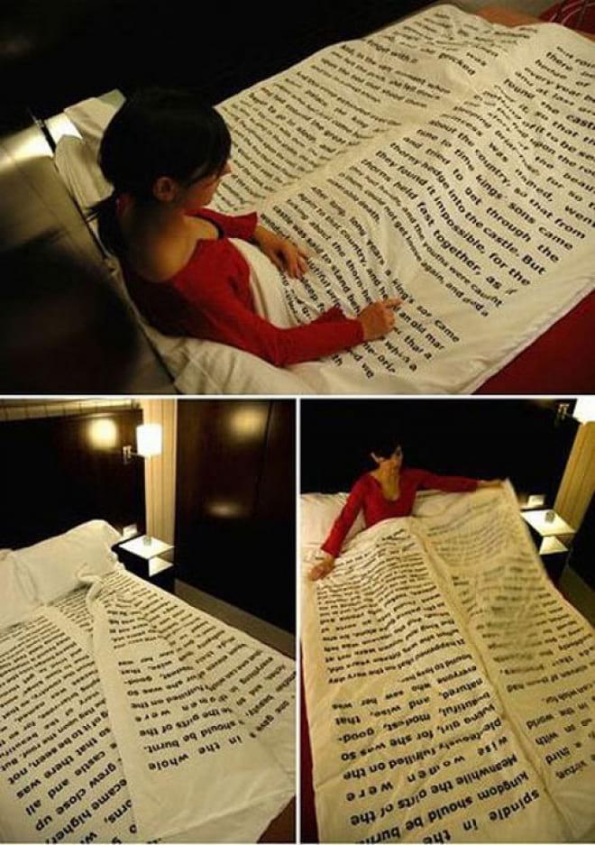Оригинальное постельное бельё, из которого не хочется вылезать (17 фото)