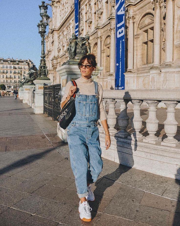 Летние джинсовые комбинезоны 2019 фото 13
