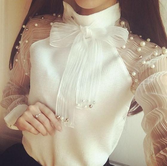 Элегантные блузки, которые хочется добавить в гардероб