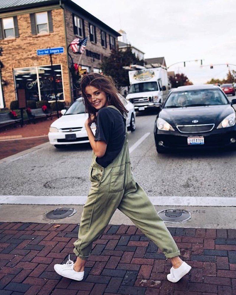Летние джинсовые комбинезоны 2019 фото 3