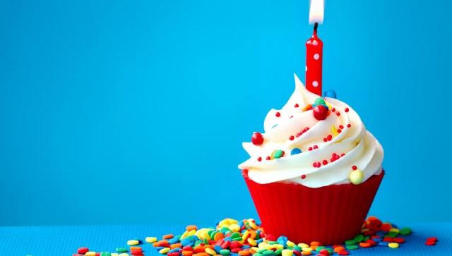Пирожное-на-День-рождения