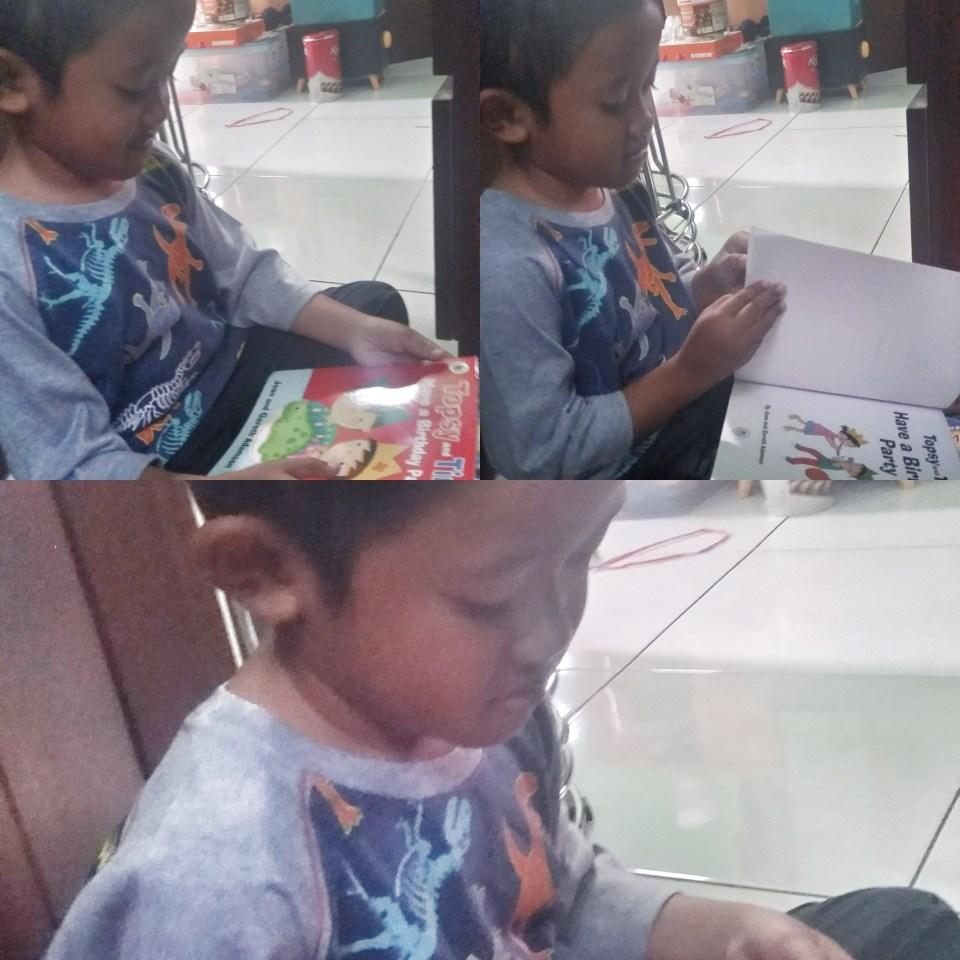 Anak Suka Membaca