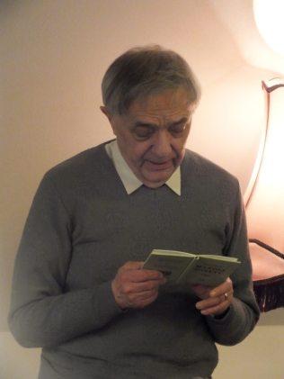 Miloň Čepelka čte sonety