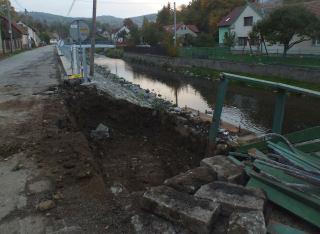 Most u Čermáků - jáma