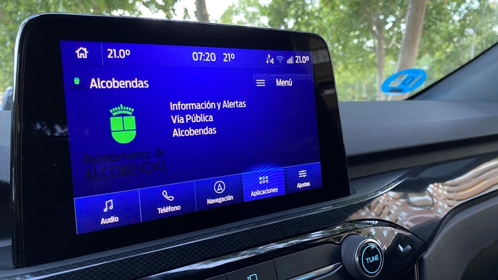 Ford Messaging-System