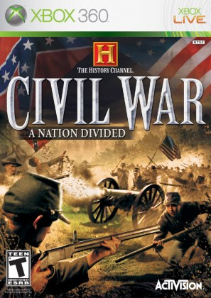 Buy Xbox 360 History Channel Civil War A Nation Divided   eStarland     History Channel Civil War A Nation Divided  Xbox 360