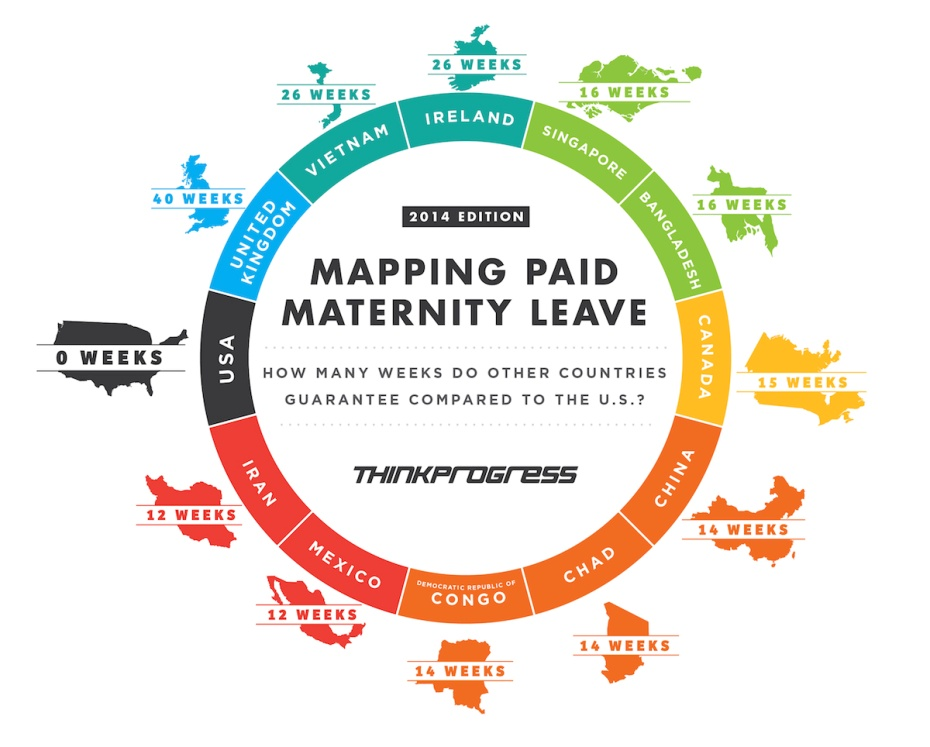 Mapping paid maternity leave1