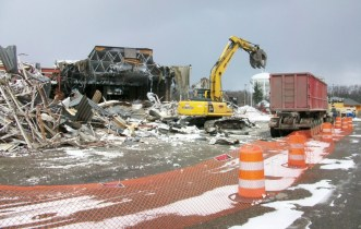 Studio 28 demolition is a loss for some; a relief for others.