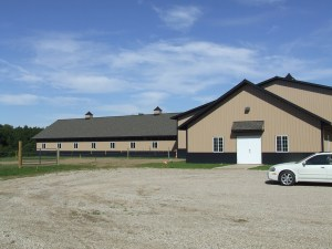 Mounted Unit Barn