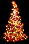 16564354-xmas-tree-lights-on-the-black-background