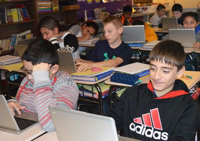Chromebooks sixth grade