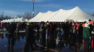 Michigan winter beer festival tent
