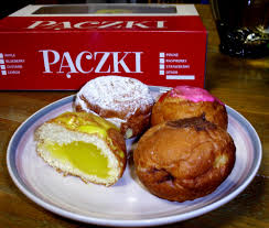 Paczkis are loaded with yummy goodness weighing in between 350 and 700    calories each.