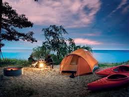 Pure Mich camp