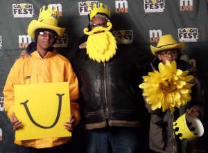 LaughFest 2015 was, as always, a fun family event.
