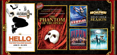 Broadway Grand Rapids 2015-16 Season
