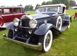 This 1931 Packard Super 8 Roadster is owned by Tom and Donna Tuls of Holland.